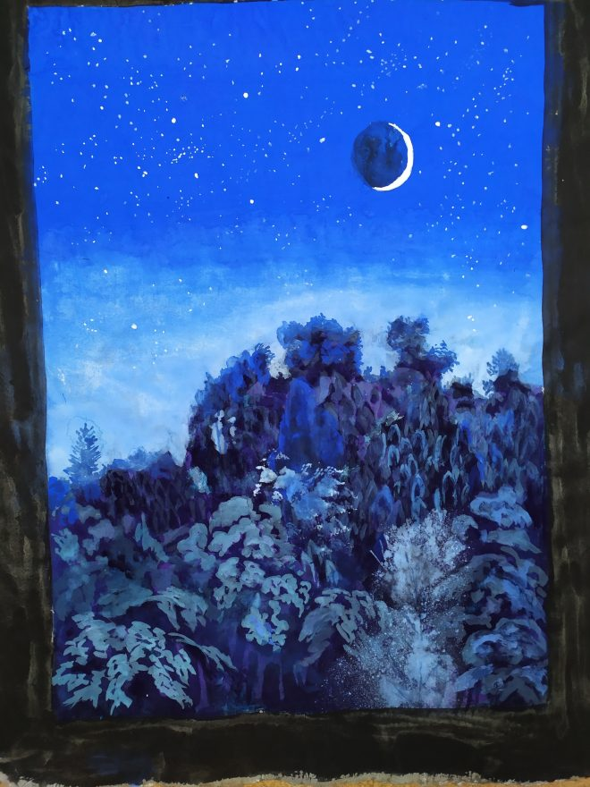 Luna de cuaretena